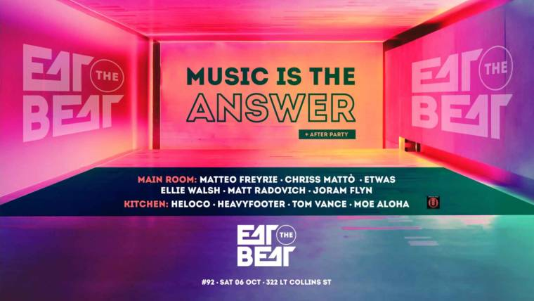 Music Is The Answer #92